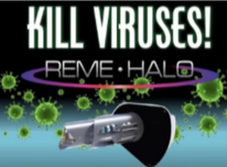 Kill viruses with REME HALO